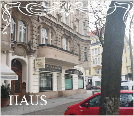 Gunstige Berliner Hotel Pension Bella Cheap Accommodation Direkt